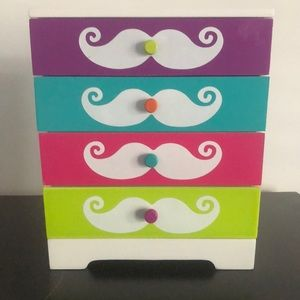 COPY - Mustache jewelry holder
